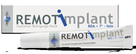 REMOT implant 27g Tube - Deutsch - freigestellt (Klein)